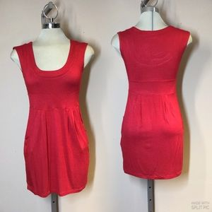 Costa Blanca,petite Red summer Dress,Size s/p